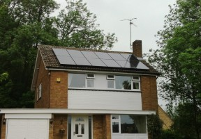 Local Solar Panel Install in Northamptonshire