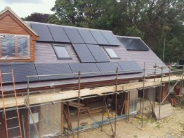 New Build Solar Installation