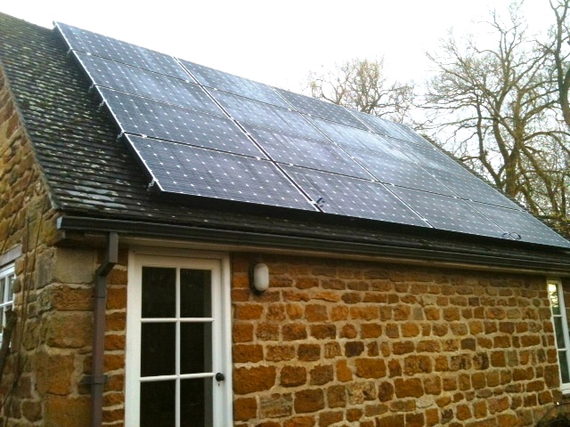 Northants Solar P.V. Panel Installation